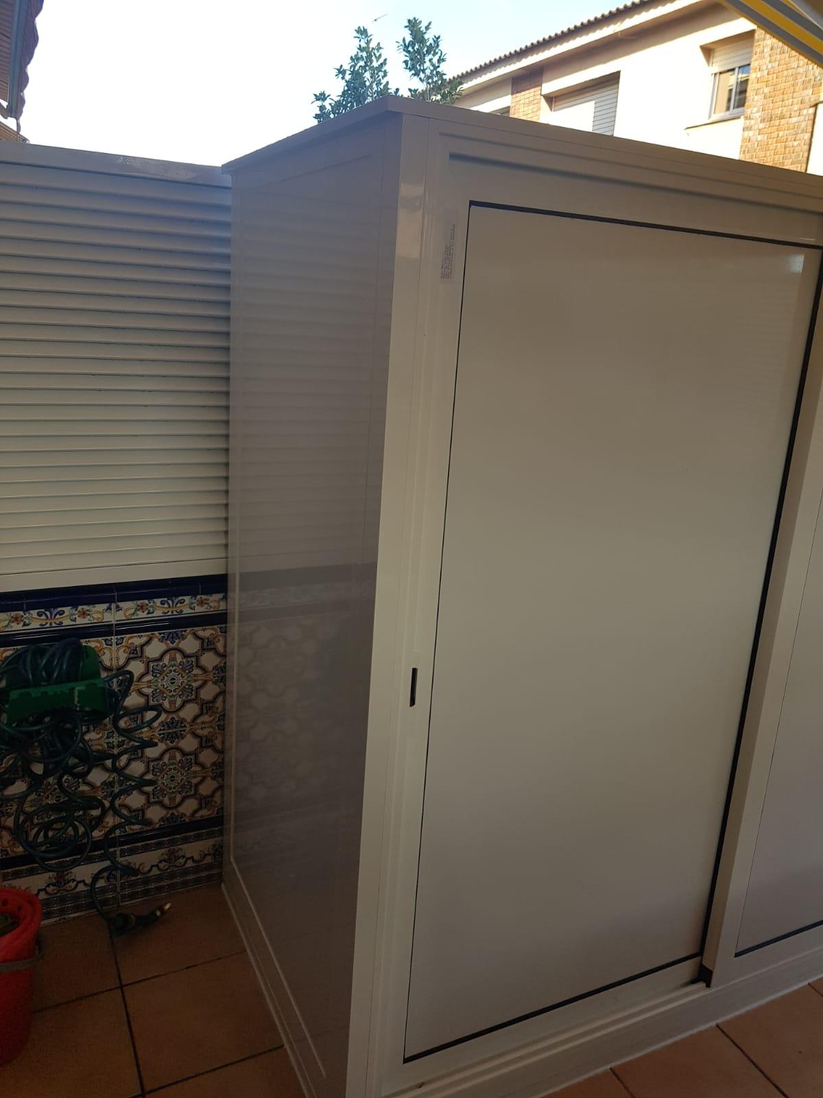 Armario A Medida De Aluminio Para Terrazas Interiores